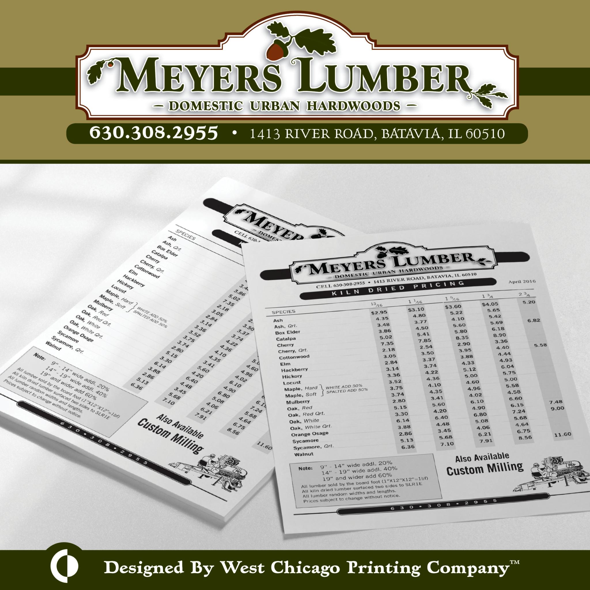 Meyers Lumber Branding