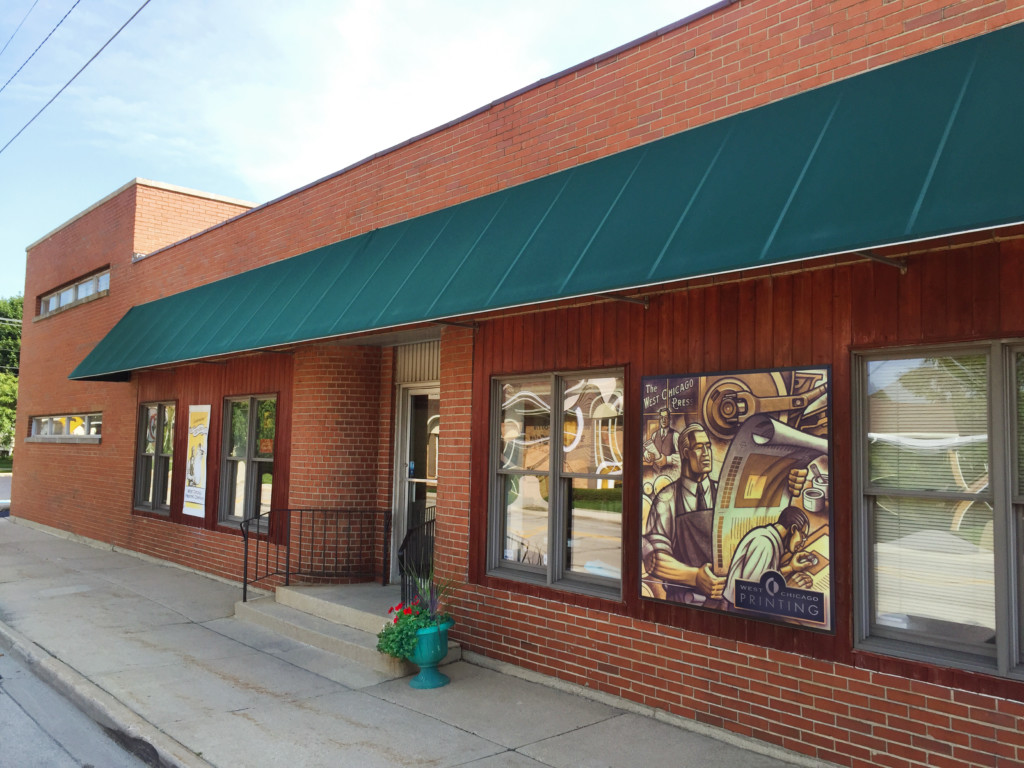 West Chicago Printing Company Storefront