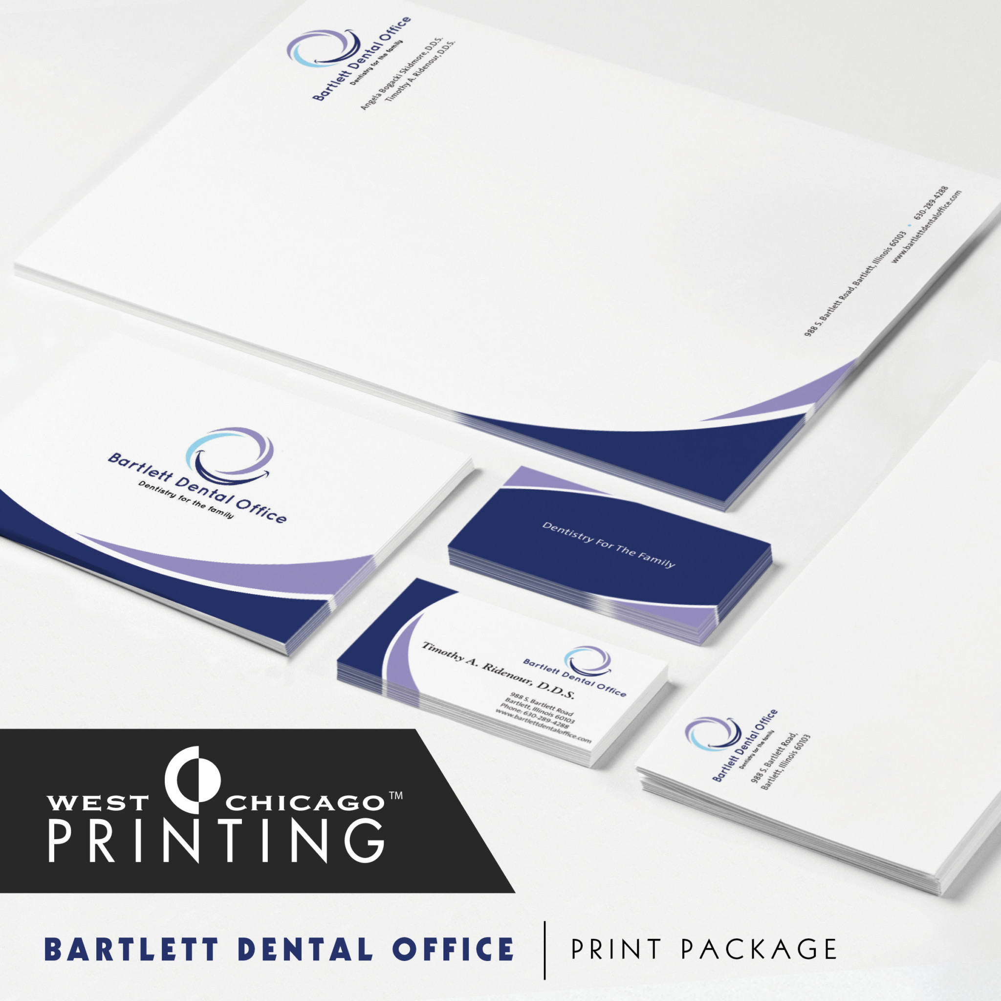 Bartlett Dental Office Print Package