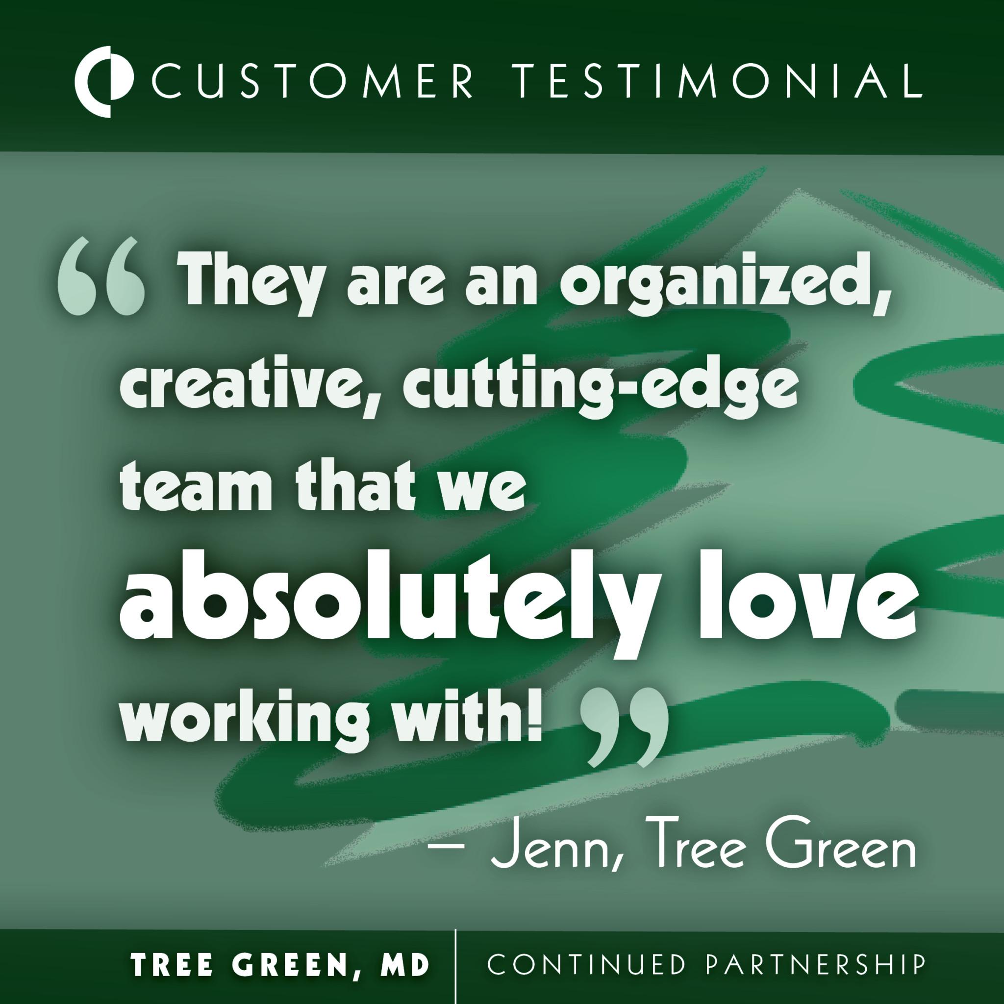 Customer Spotlight: Tree Green
