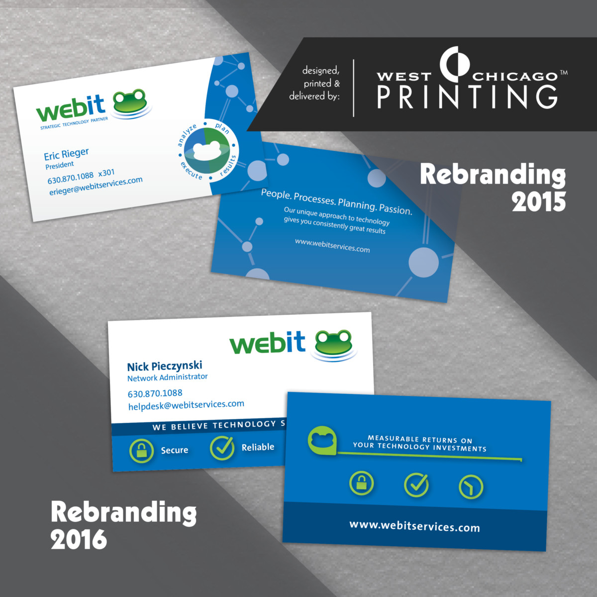 Webit Customer Spotlight, Business Cards