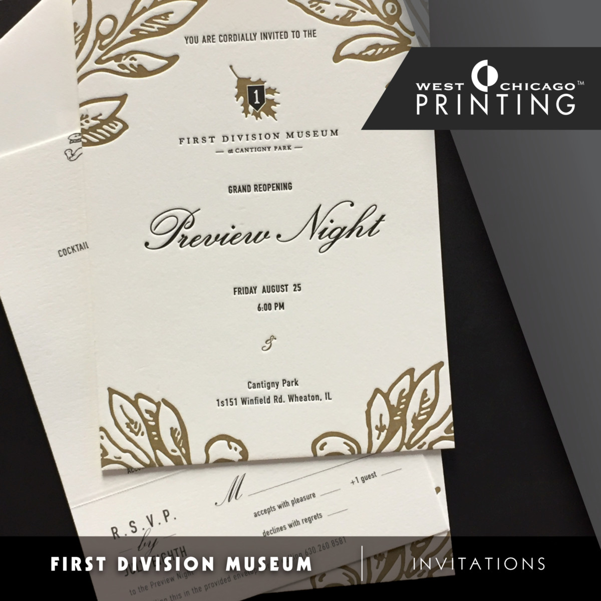 Cantigny First Division Museum Invitations Spotlight1
