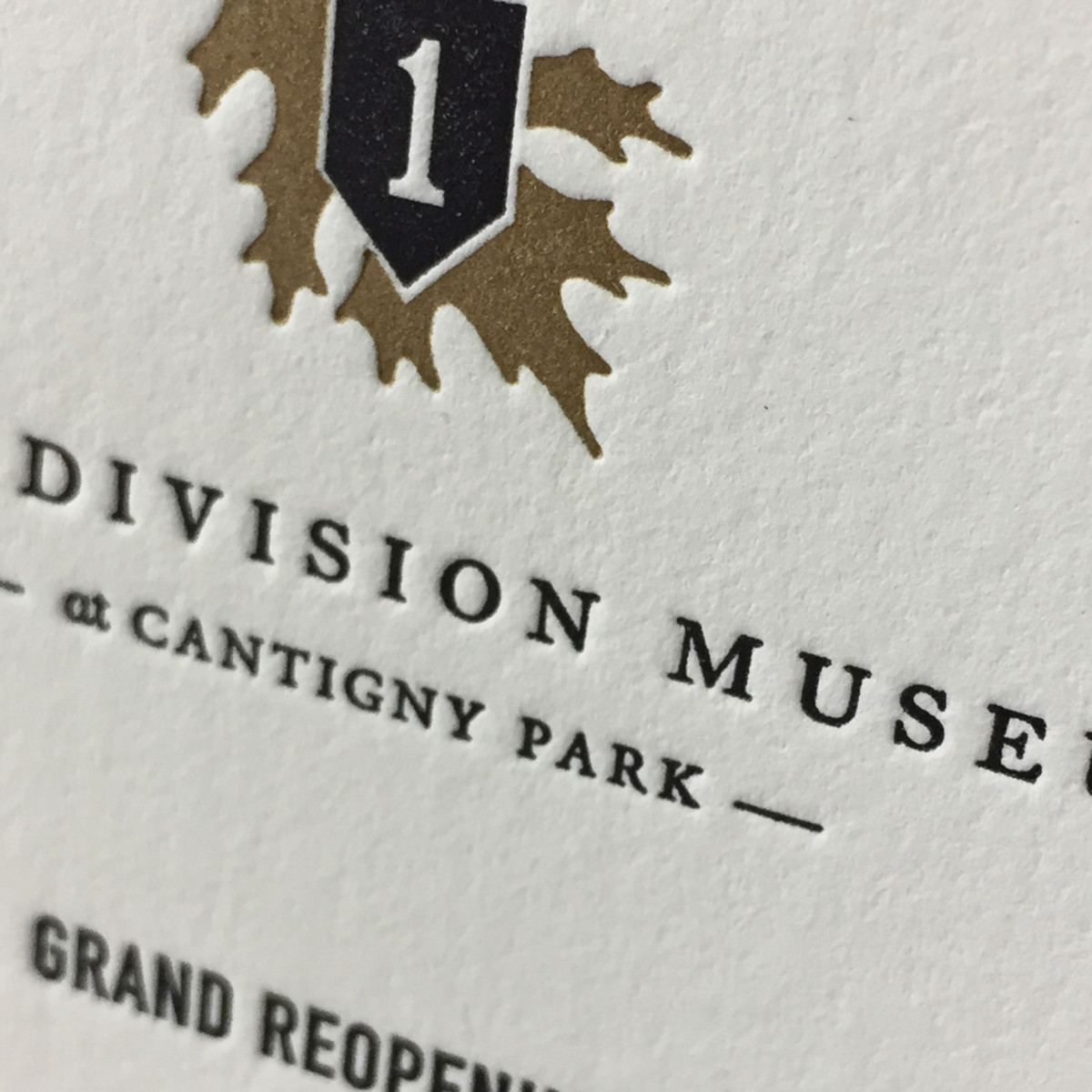 Cantigny First Division Museum Invitation Spotlight2