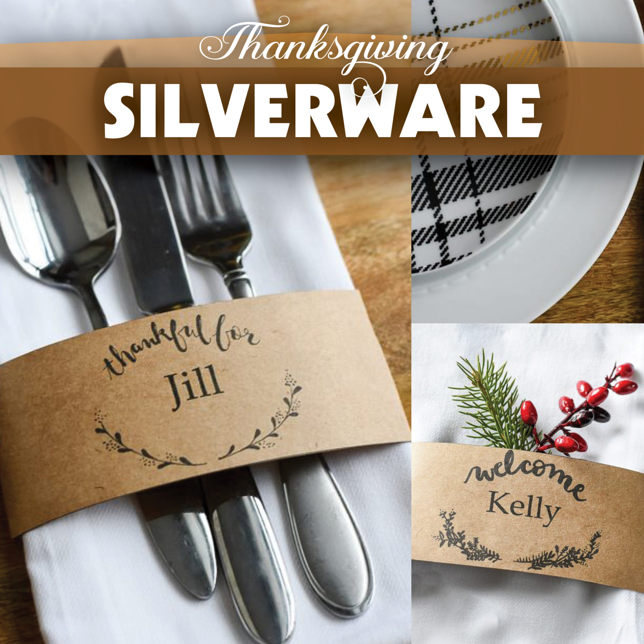 Thanksgiving Silverware
