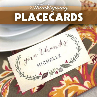 Thanksgiving Food & Drink Cards