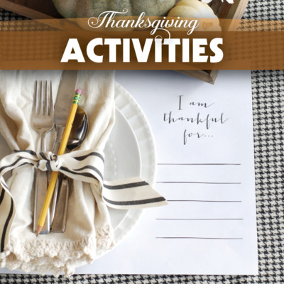 Thanksgiving Activity Cards