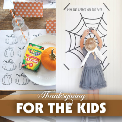 Thanksgiving Kid's Activities